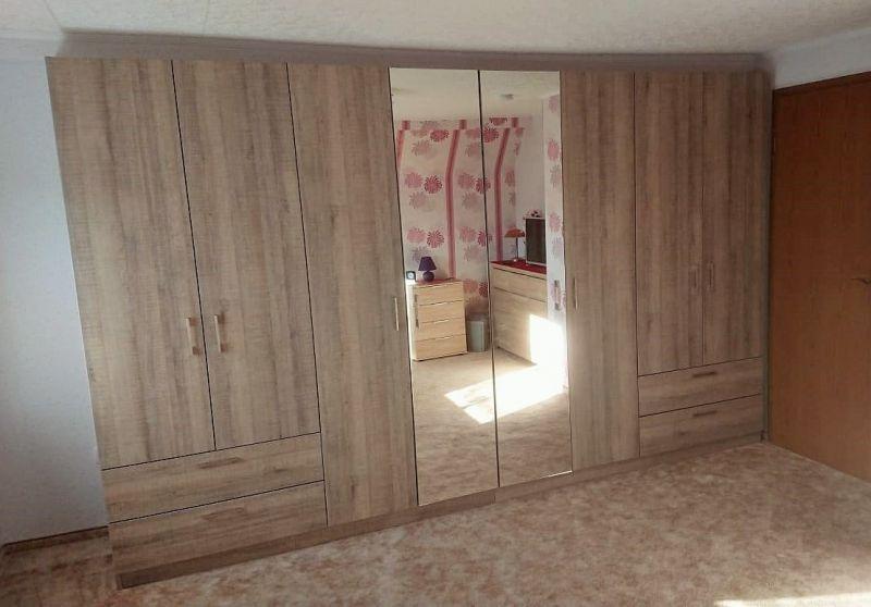 m bel nach ma kleiderschrank wei enfels. Black Bedroom Furniture Sets. Home Design Ideas